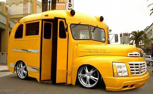 Not our actual school bus