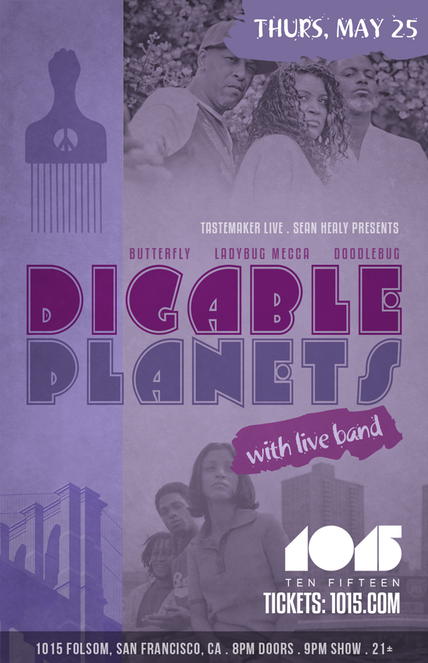 Digable Planets - THURS 5.25 FLYER