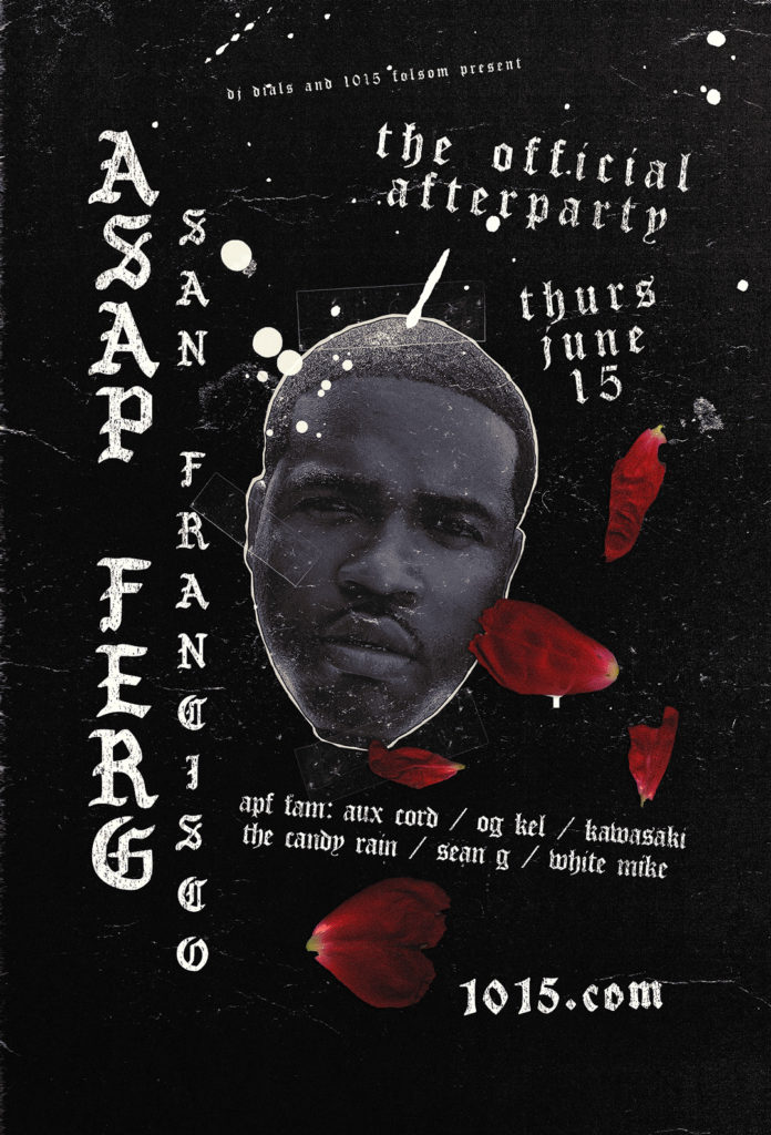 Asap Ferg flyer