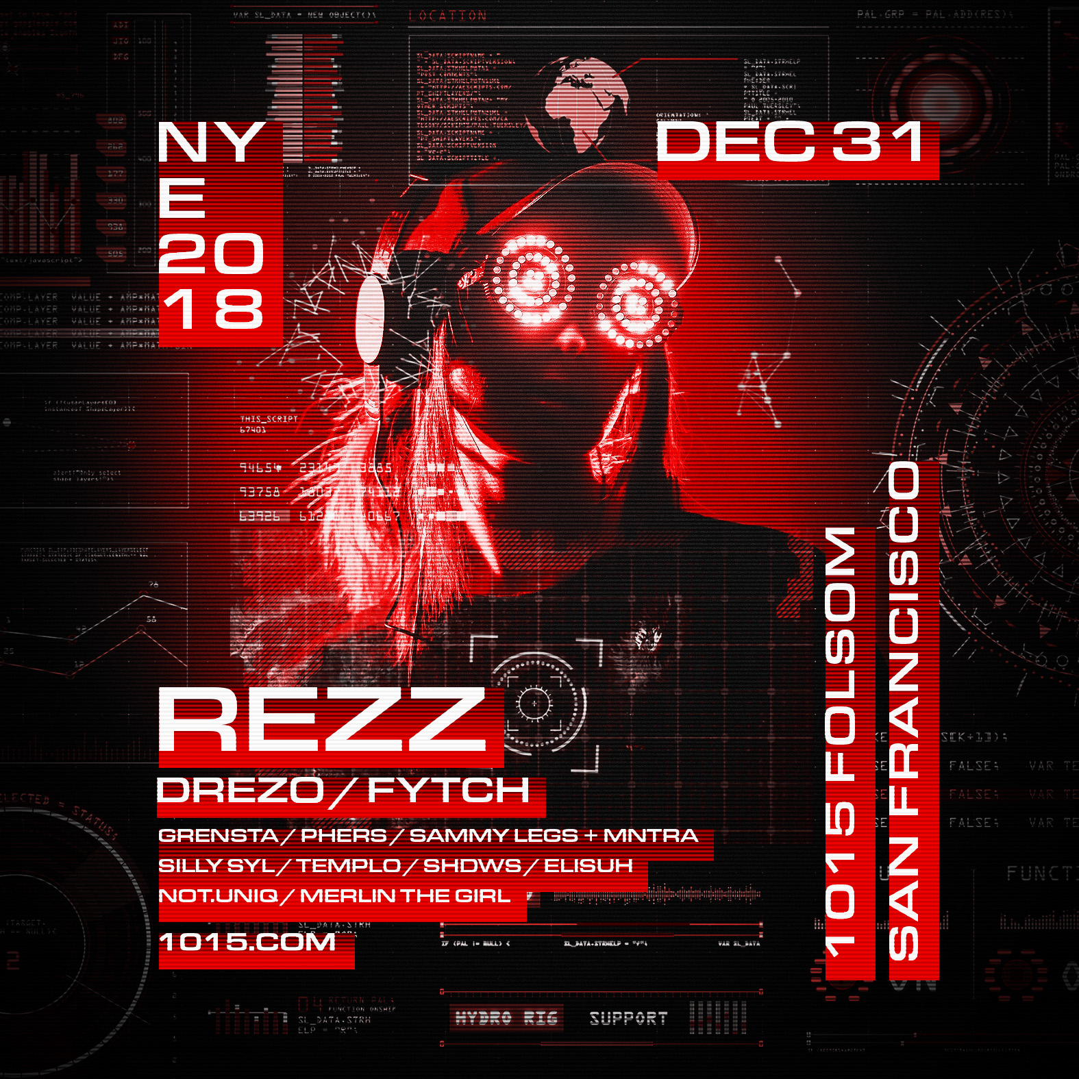 Rezz full flyer NYE
