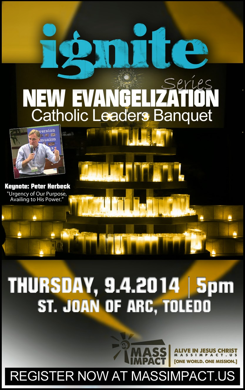 IGNITE New Evangelization | Catholic Leaders Banquet