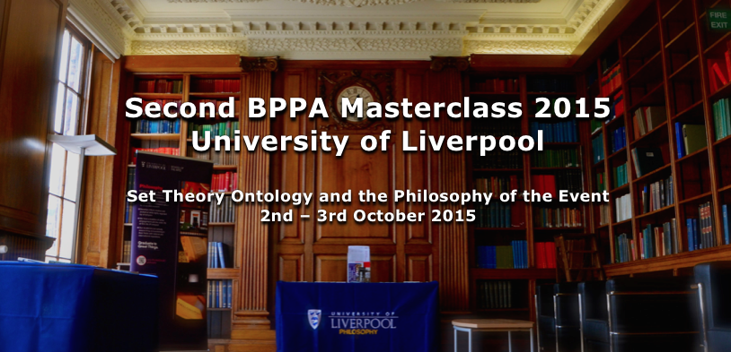 Second BPPA Masterclass 2015 University of Liverpool