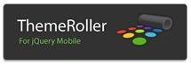 themeRoller for jQuery mobile