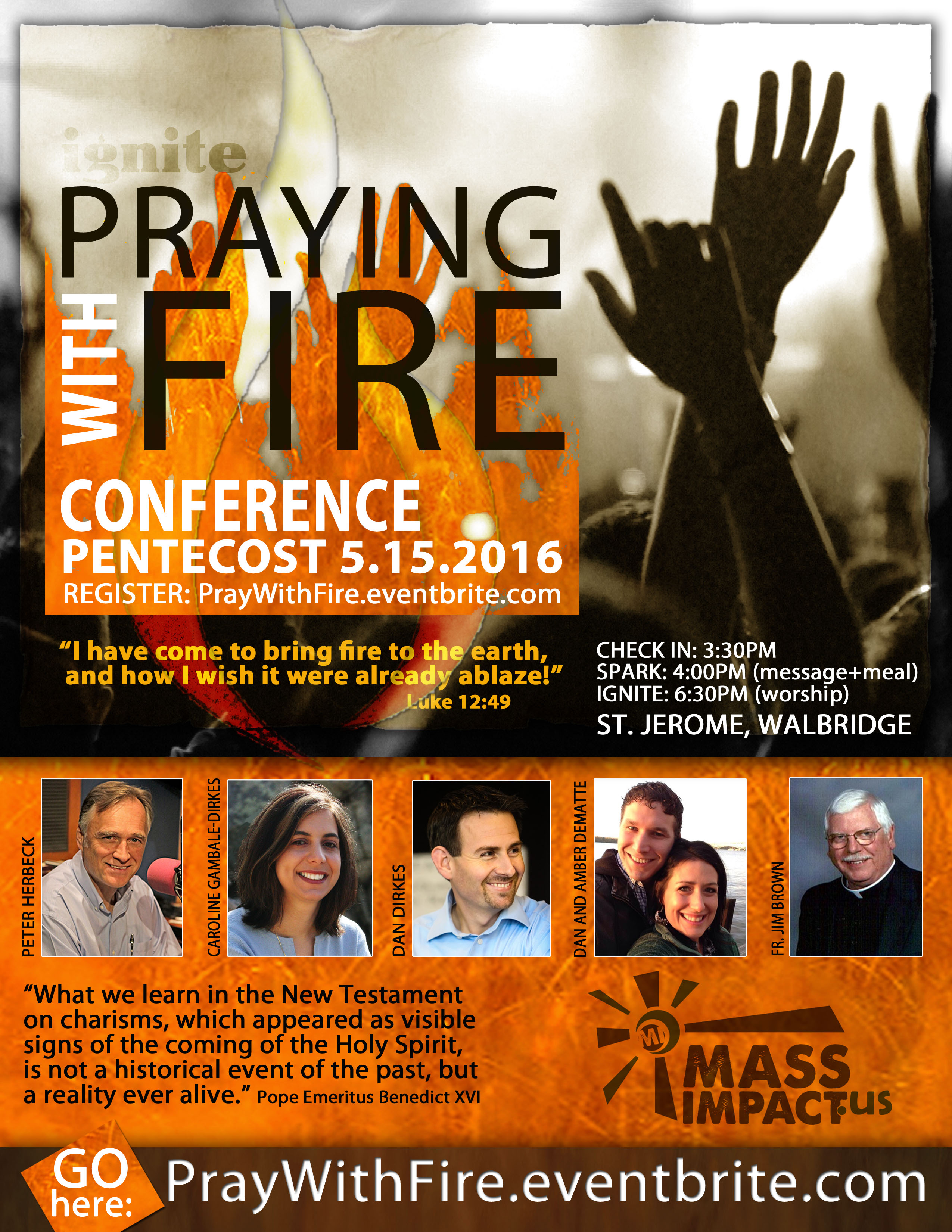IGNITE Praying with Fire