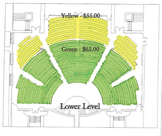 Lower Level Seating