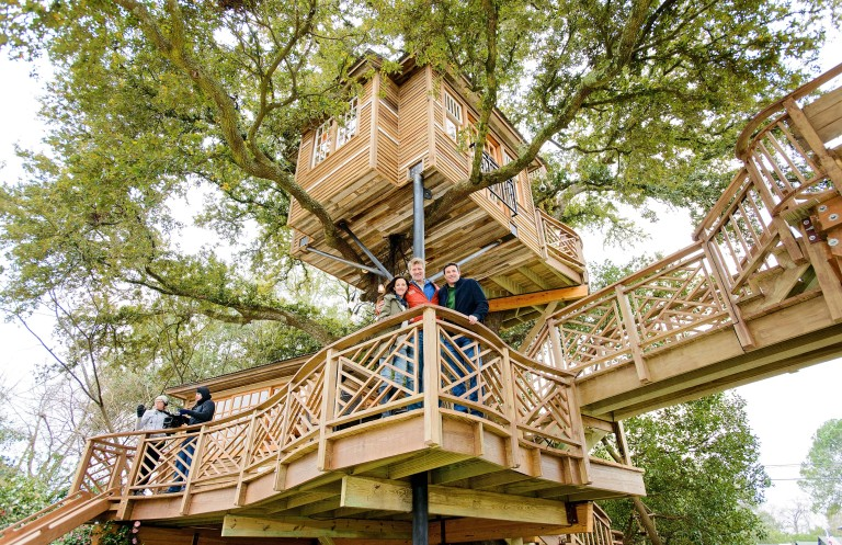 Gwen and Todd Graves Treehouse