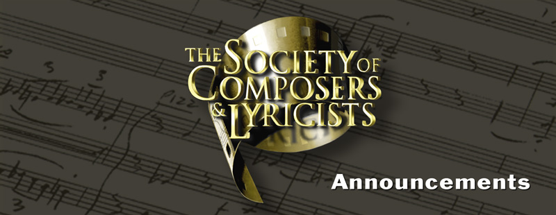 The Society of Composers and Lyricists Seminar: DETROIT
