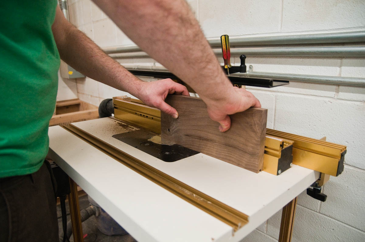 Router Table in Action
