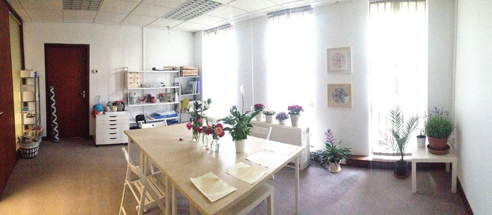 Art classroom and studio space at Prime Studios, Windsor, Berkshire, UK
