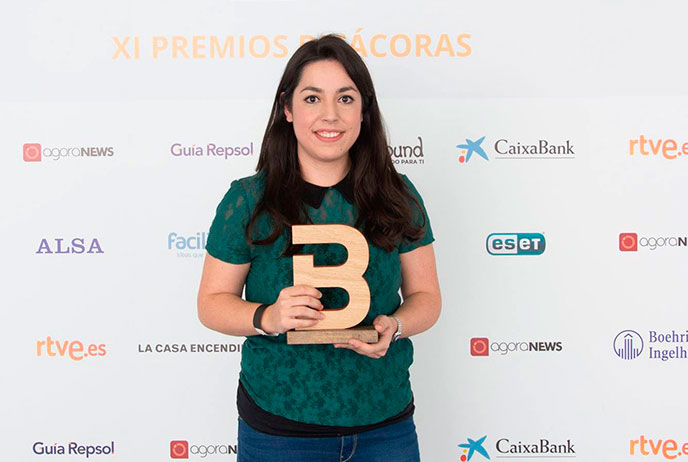 Laura López - XI Premio Bitácoras al mejor Blog de Marketing Online