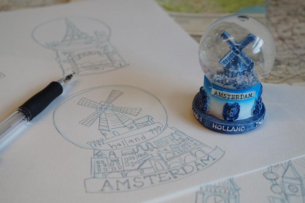 Marna Lunt Snow Globe Sampler Workshop
