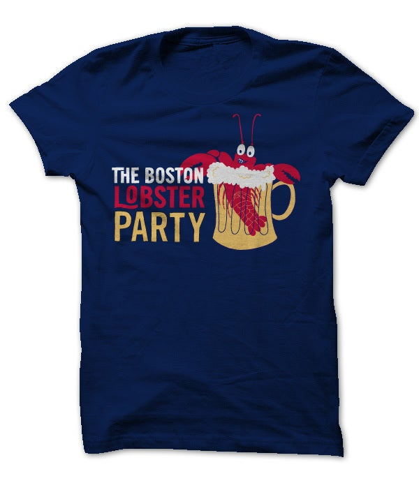The Boston Lobster Party T Shirt