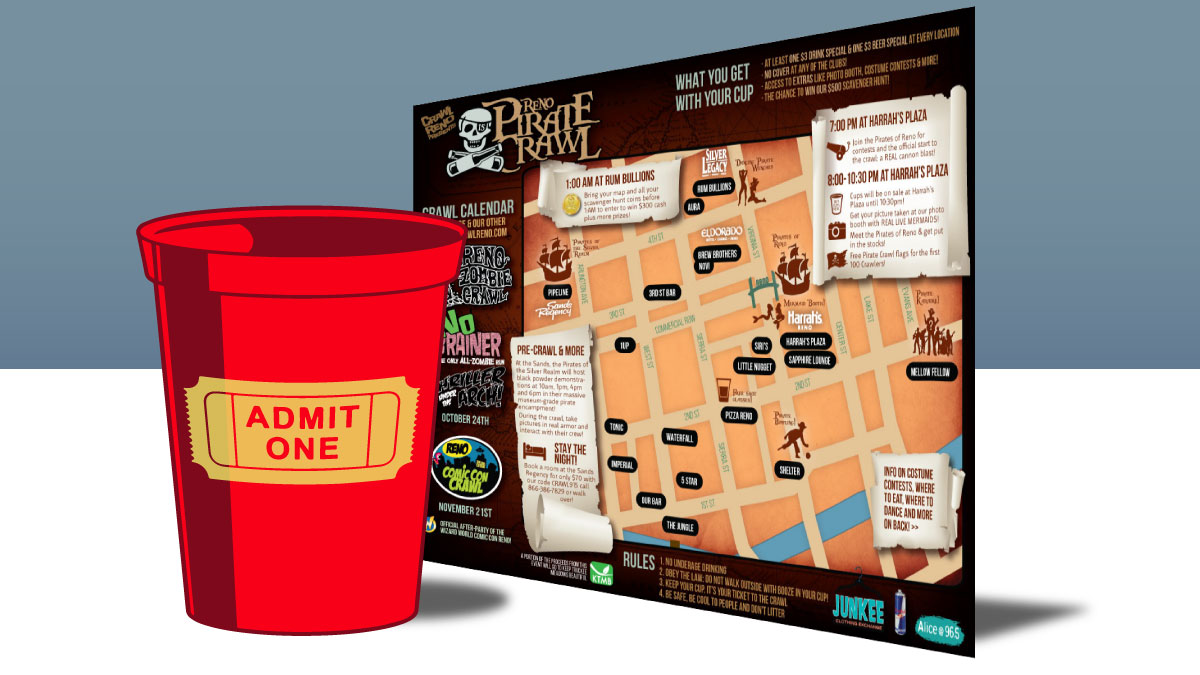 map-and-cup