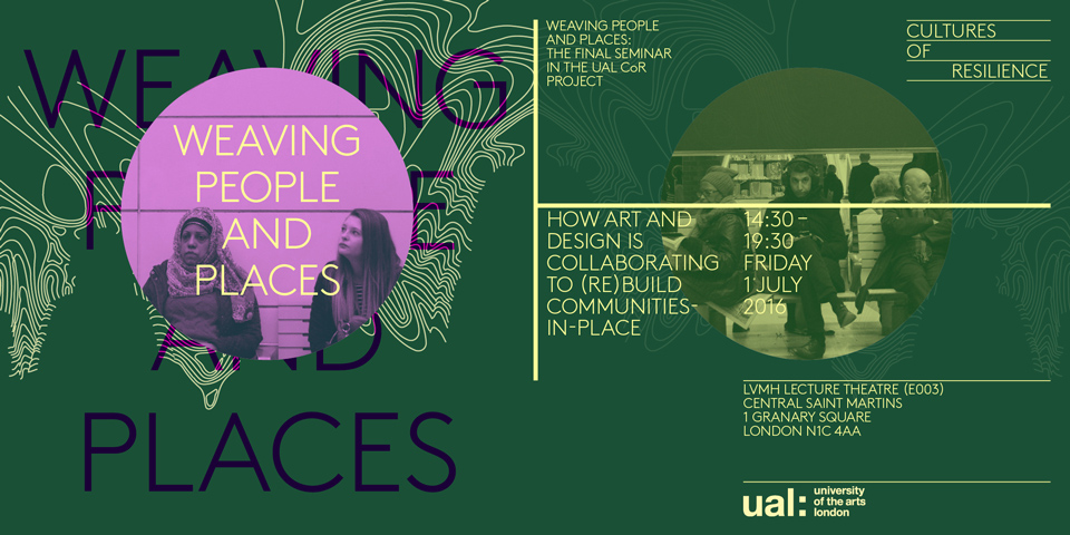Weaving People and Place Poster