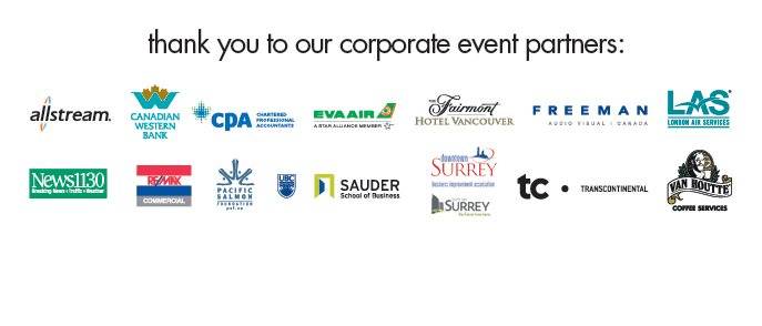 Top 100 Corporate Event Partners