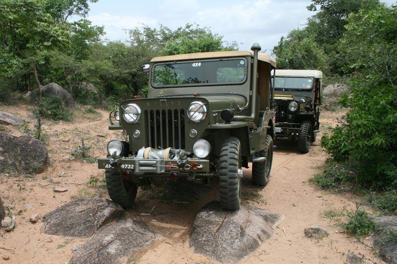 The Mahindra Jeep!