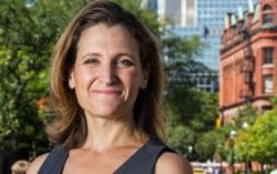 Chrystia Freeland, Author, Thought Leader & Canadian MP