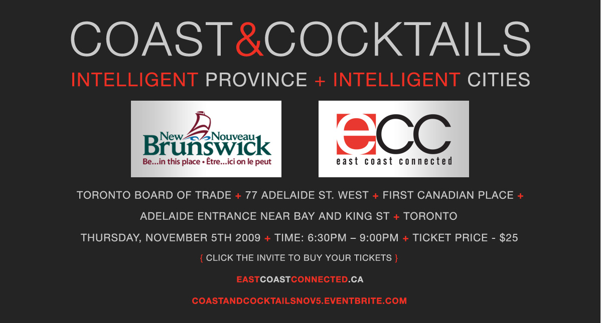Coast and Cocktails November 5 2009