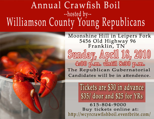 Crawfish Boil Invite