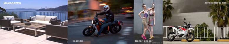 Mamagreen, Brammo, Bahar Shahpar, Zero Motorcycles