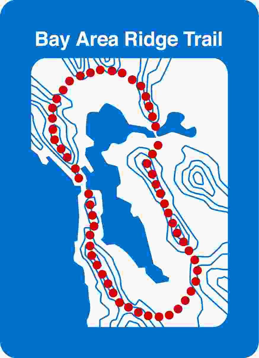 Bay Area Ridge Trail  Council Logo