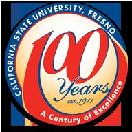 California State University, Fresno Centennial Logo