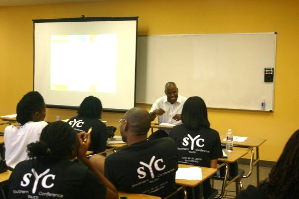 SYC Attendees in T-shirts