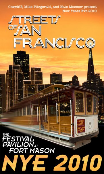 Streets of San Francisco NYE