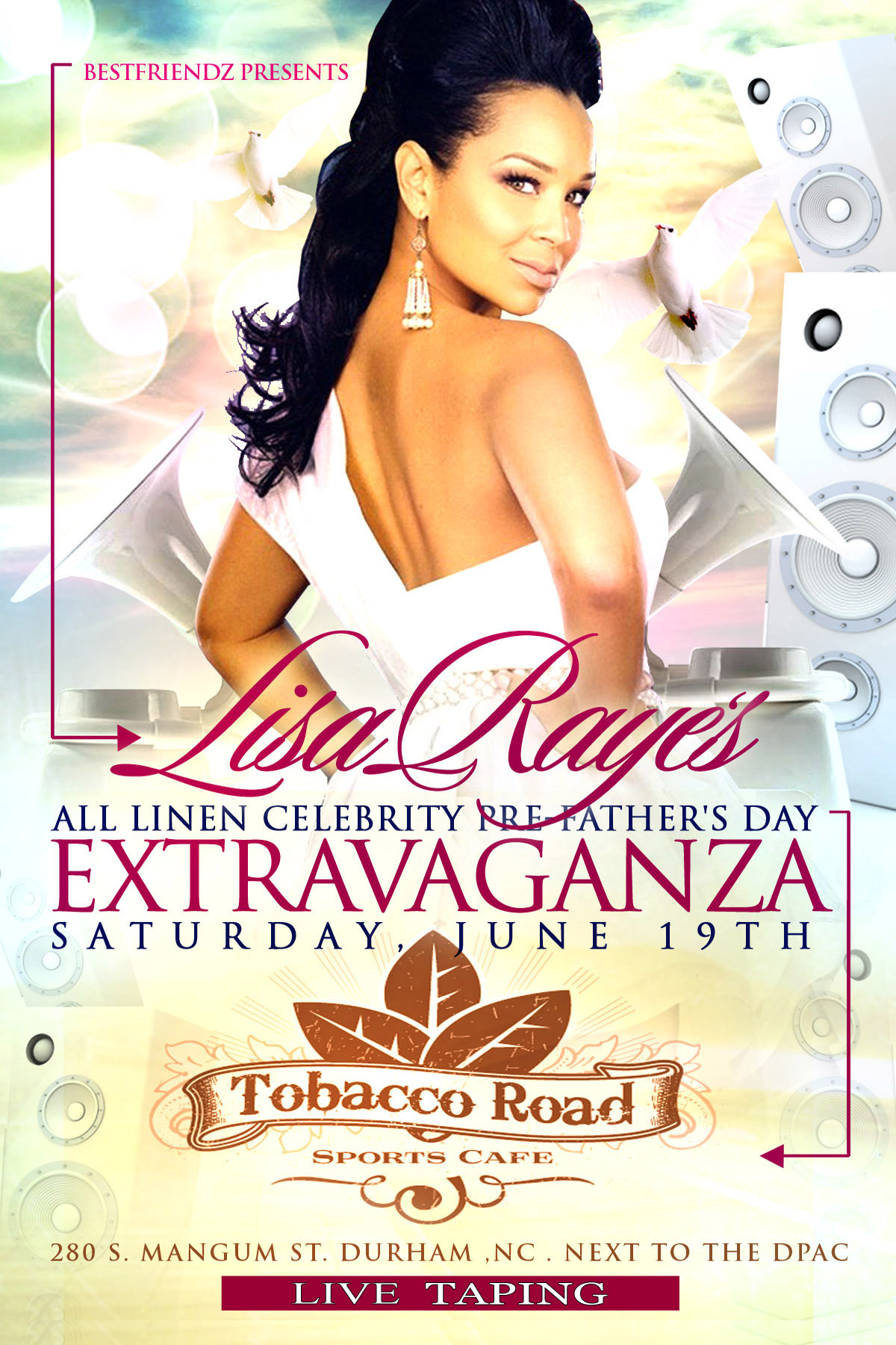 Lisa Raye's Father's Day Extravaganza @ Tobacco Road