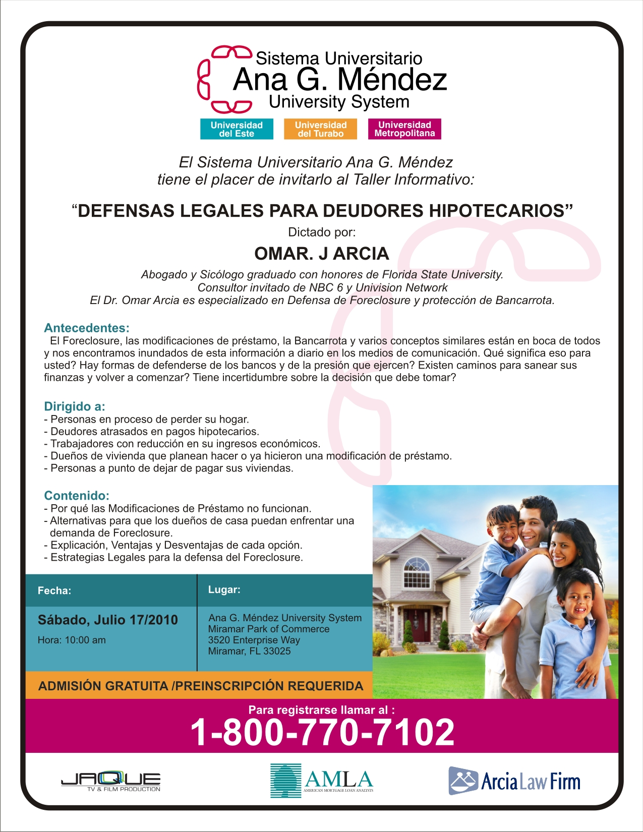 Flyer - Taller Educativo