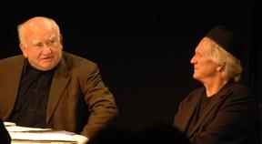 Ed Asner and Bruce Davison