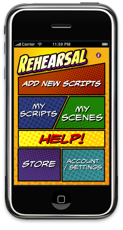 The Rehearsal iPhone App