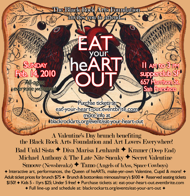 eatyourheartout fundraiser brunch by braf