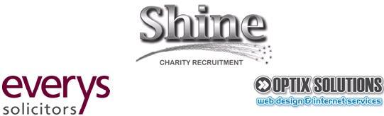 Everys, Shine and Optix logos