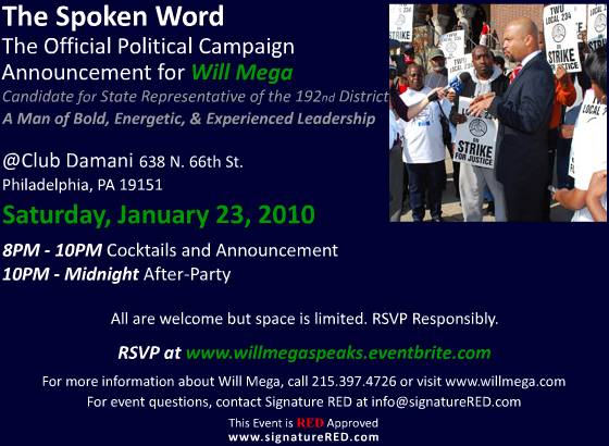 Spoken Word Flyer
