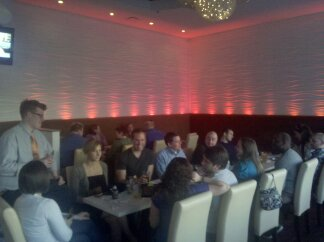 25+ Movers and Shakers of Network Delaware's network gather for the 4th weekly #DEHappyHour at @KoomaWilmington