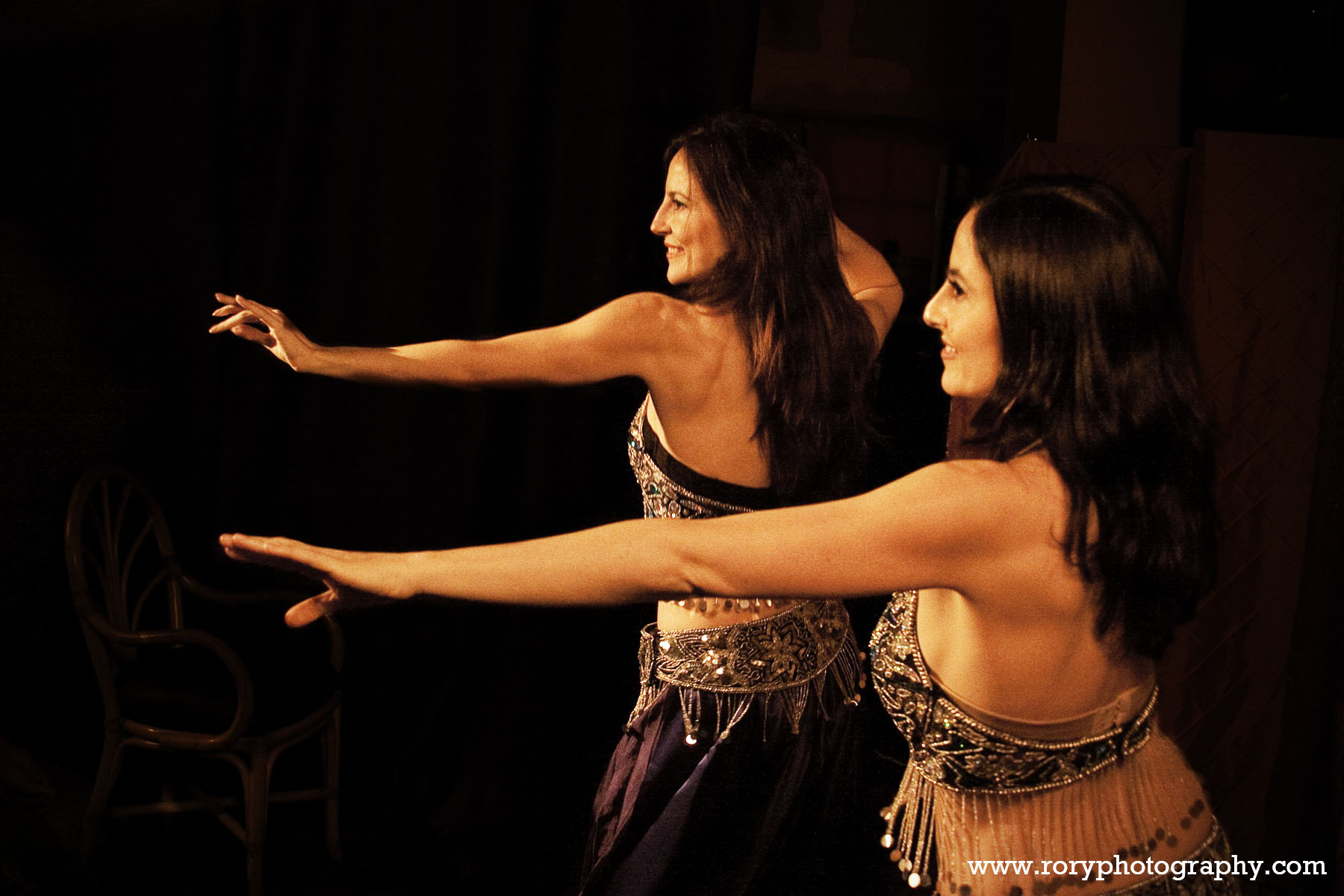 April and Celeste Belly Dance