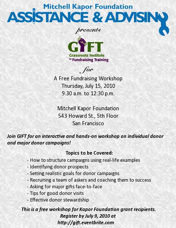 GIFT Workshop Description
