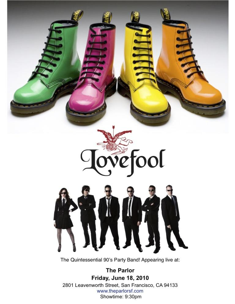 lovefool poster
