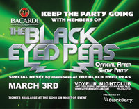 Black Eyed Peas After Show Party