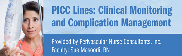 PERIPHERLLY INSERTED CENTRAL CATHETERS (PICC) LINES