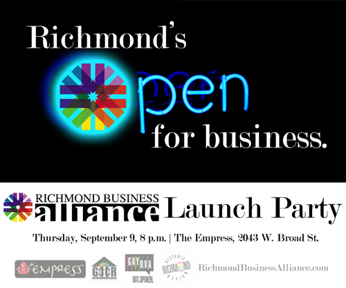 You're Invited...Richmond Business Alliance Launch Party