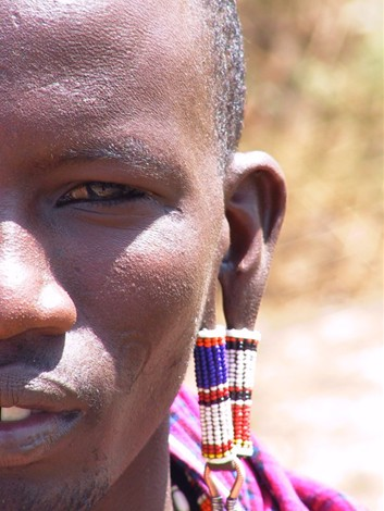 A Maasai Warrior in Kenya