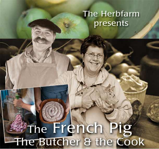 French Pig: Dominique the Butcher & Kate the Cook