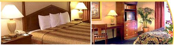 Holiday Inn sleeping room