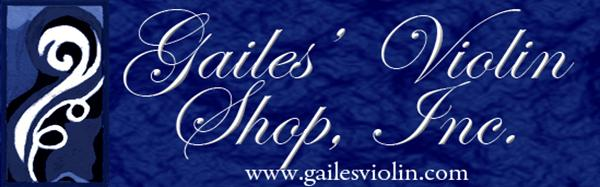 Gailes' Violin Shop Logo