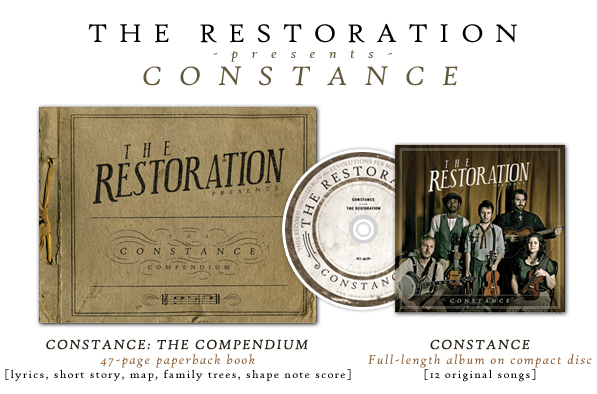 The Restoration presents Constance