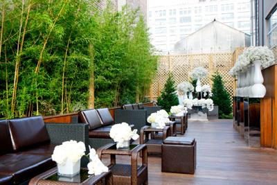 Hudson Terrace, Garden