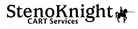 StenoKnight Logo