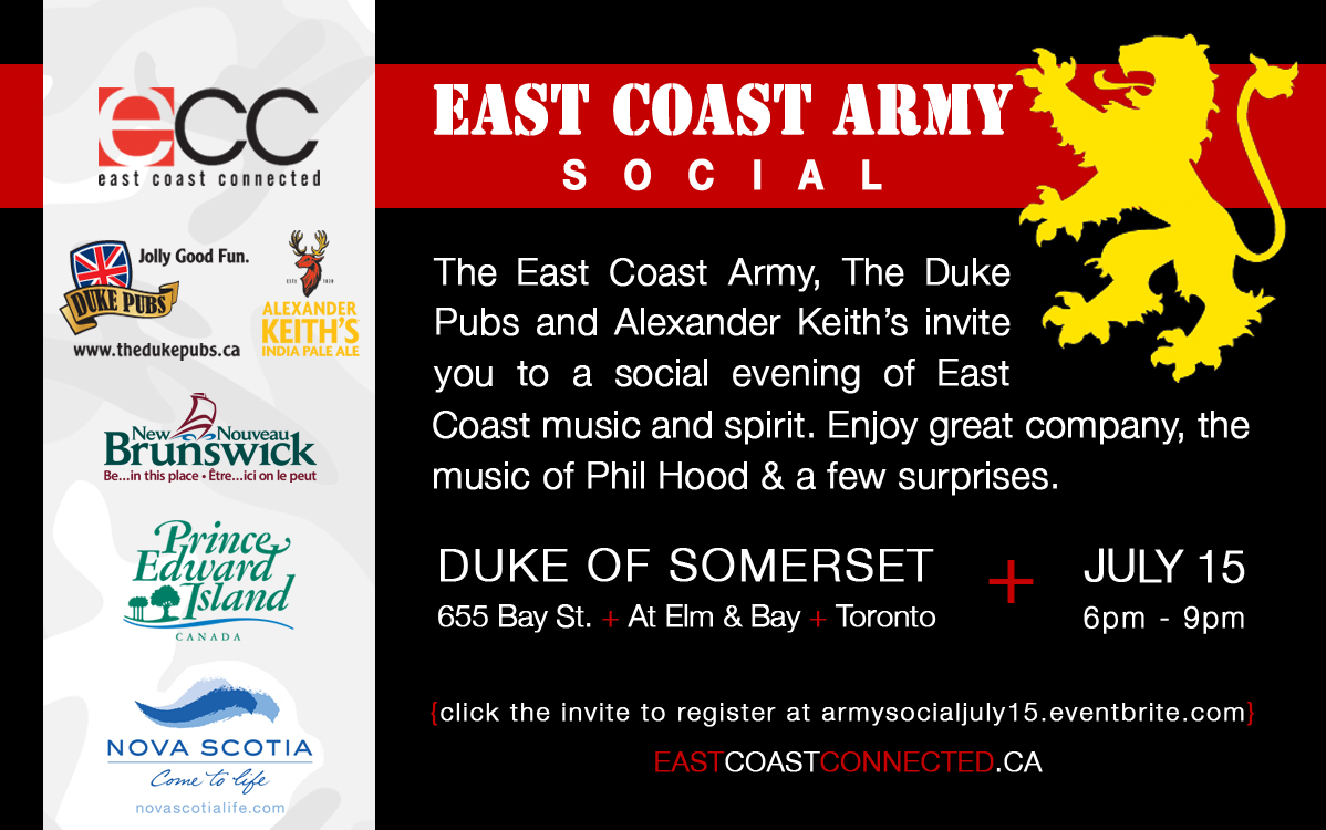 East Coast Army Social July 15